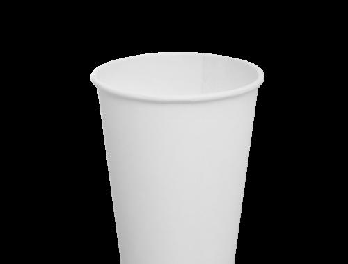 Karat 12oz Paper Hot Cups - White (90mm)
