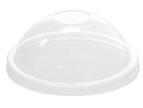 Karat 16oz PET Food Container Dome Lids (112mm)
