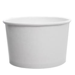 Karat 20oz Hot Cold Paper Food Containers - White (127mm)