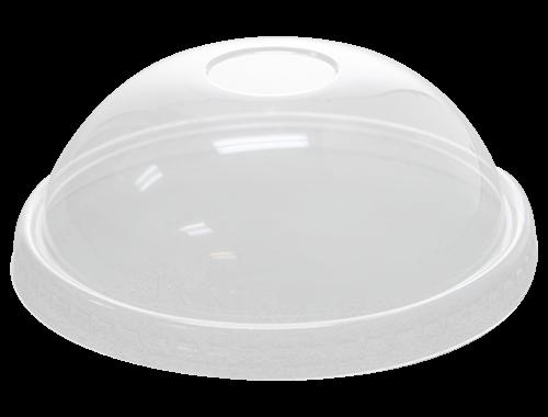 Karat 20oz PET Food Container Dome Lids (127mm)