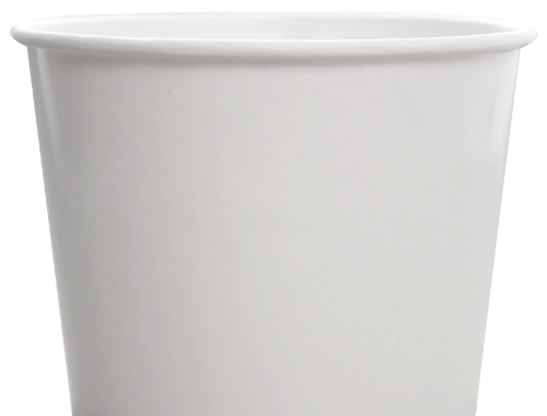 Karat 32oz Hot Cold Paper Food Containers - White (142mm)