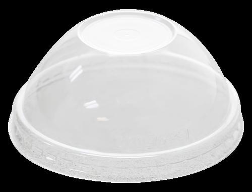 Karat 4oz PET Food Container Dome Lids (76mm)