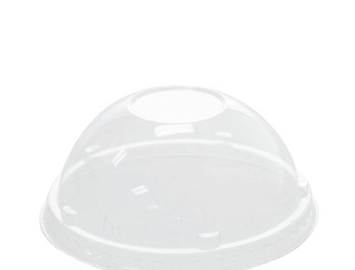Karat 5oz PET Food Container Dome Lids (87mm)