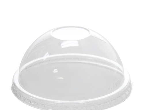 Karat 6oz PET Food Container Dome Lids (96mm)