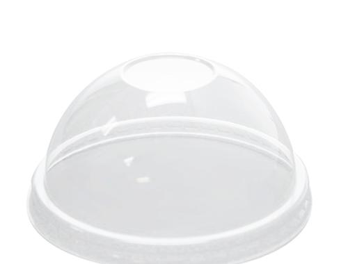 Karat 8oz PET Food Container Dome Lids (95mm)