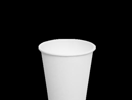 Karat 8oz Paper Hot Cups - White (80mm)