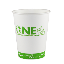 Karat Earth 12oz Eco-Friendly Paper Hot Cups - Generic (90mm)