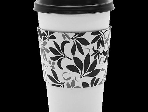 Karat Traditional Cup Jackets - Fleur Black