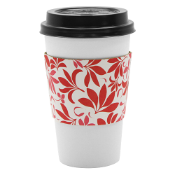 Karat Traditional Cup Jackets - Fleur Red