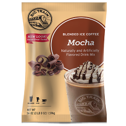 Mocha blended ice coffee mix
