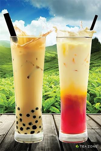 Poster - 2015 Generic Poster Boba Tea&Thai Tea, 24 x 36