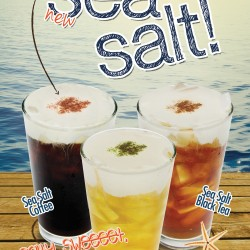 Tea Zone Sea Salt Cream Generic Poster