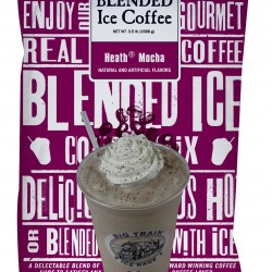 big train blended ice coffee heath