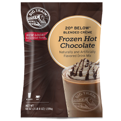 frozen hot chocolate mix
