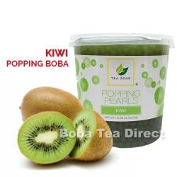 kiwi popping bursting boba balls