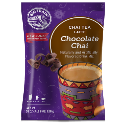 Big Train Chocolate Chai Tea Latte