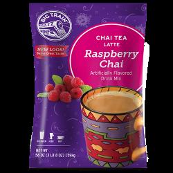 big train raspberry chai