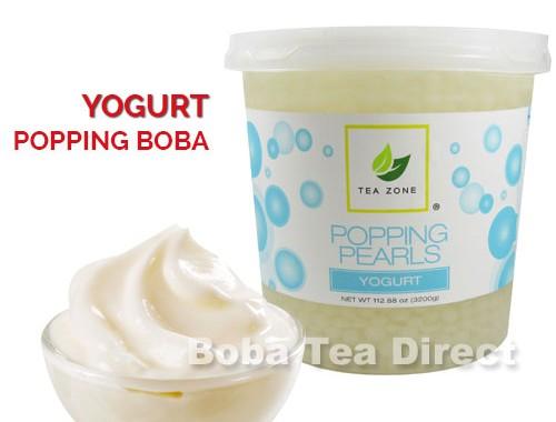 yogurt popping bursting boba balls