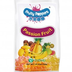 Passion fruit fruity popping bursting poppers pouch