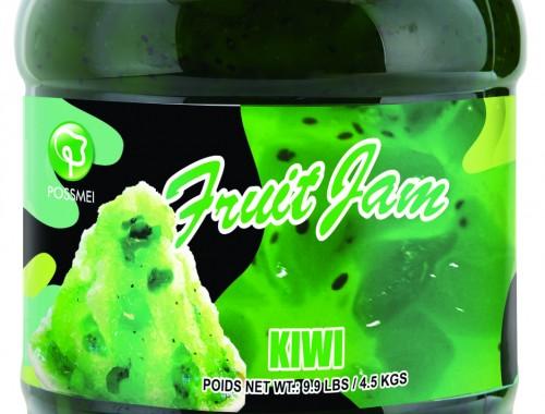 kiwi boba bubble tea jam