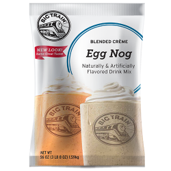 Big Train Egg Nog Blended Creme Frappe Mix