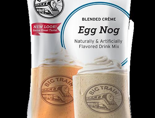 Big Train Egg Nog Blended Creme Frappe Mix