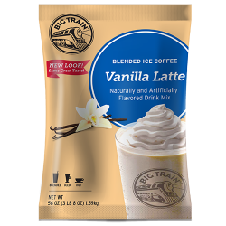 Big Train Vanilla Latte Blended Ice Coffee Mix