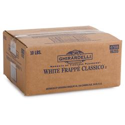 Box Ghirardelli Classic White Frappe