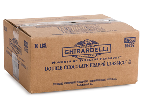 Box Ghirardelli Double Chocolate Frappe