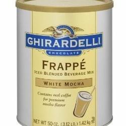 Ghirardelli White Mocha Frappè