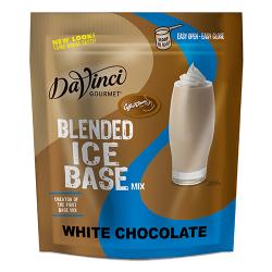white choco frappe base mix