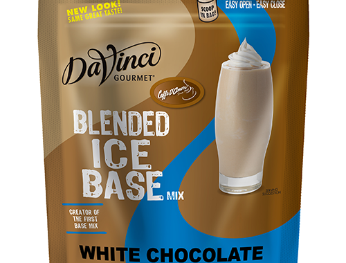 white choco frappe base mix